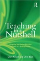 Teaching in a Nutshell (book cover)
