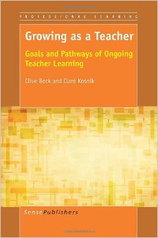 Image of Growing as a Teacher book cover