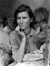 Migrant Mother, Photographed By: Dorothea Lange