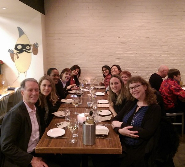 Dinner with the Research Team