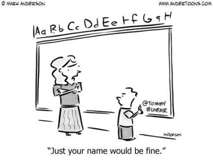 signing name
